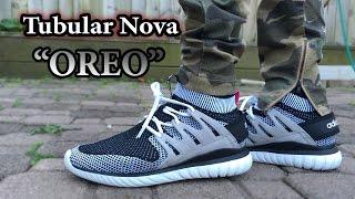 Adidas Tubular Nova Pk On Foot