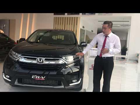 Khuyến Mãi Giá Lăn Bánh Honda CR V 1.5G Turbo 2019 7 Chỗ Mua Trả Góp Chỉ 330Tr Ra Biển Tại HCM