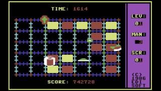 C64 Game: Corner Man