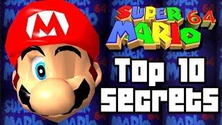 Super Mario 64 TOP 10 SECRETS & Tricks (Wii U, N64)
