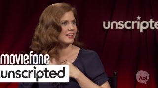 Michael Shannon Scared Henry Cavill | 'Man of Steel' Unscripted | Moviefone
