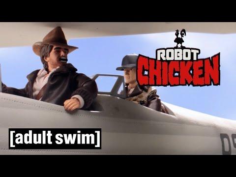 The Best of Indiana Jones Robot Chicken Adult Swim