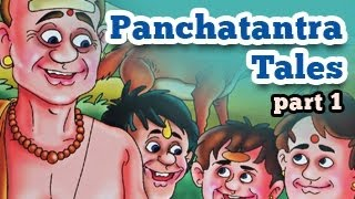 Panchatantra Tales in English - Animated Stories for Kids - Part 1