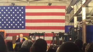 President Donald Trump talks Apple's $350 billion U.S. investment