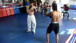 Wing Chun VS Kick boxer