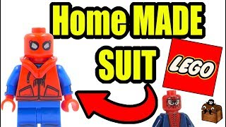 Spiderman Homecoming LEGO Custom Minifigures 2017