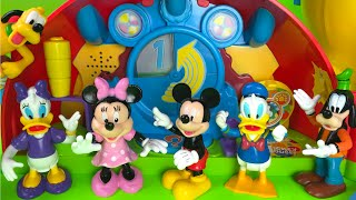 Mickey Mouse Clubhouse Playset Minnie Mouse  Pluto Daisy Donald Duck Guffy from Disney Junior