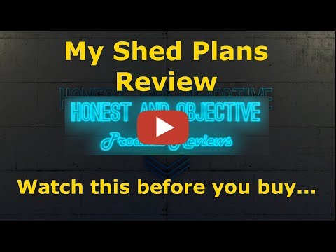 Xxx Mp4 My Shed Plans Honest Review ▶ How To Build Any Shed 12 000 Project Plans◀ 3gp Sex
