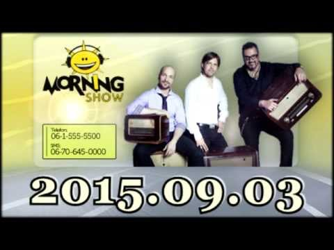 ClassFM MorningShow 2015 09 03 [Csütörtök] Feri leszokna a cigiről, Muck Éva Queens of Strings győz.
