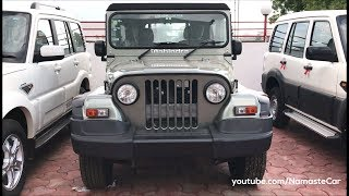 Mahindra Thar CRDe 2017 | Real-life review