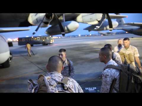 Nepal Relief: PACOM's Joint Humanitarian Assistance Survey Team Leaves From Japan B-ROLL