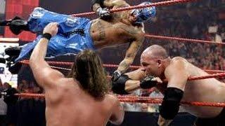 Rey Mysterio & Sin Cara Vs The Undertaker & Kane - WWE Tag Team Match