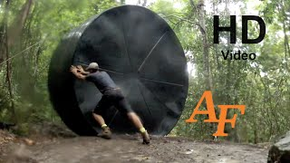 1 Person water Tank install 22,000 Litre 5000 Gallon how to do it by yourself Andy Thomsen EP.46