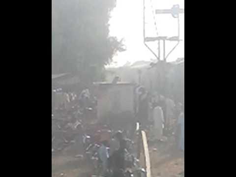 Azadi train in chishtian mandi