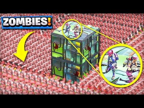 NEW ZOMBIE INFECTED Custom Gamemode in Fortnite Playground V2 Mode Battle Royale