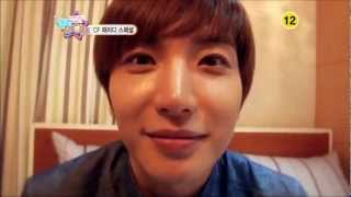 Hyorin and Leeteuk Kiss? - Hello Baby with SISTAR and Super Junior