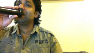 Ankhon se dil mein utar ke karaoke song naveen Chanaganacherry