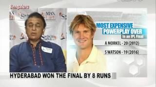 David Warner Backed his Bowlers To Defend Total: Sunil Gavaskar