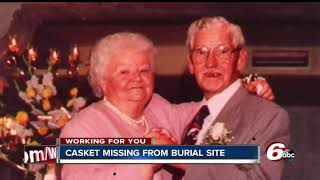 Woman discovers her father's casket was not in burial site over a decade after his death