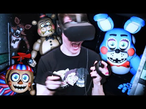 Xxx Mp4 FNAF 2 IN VR IS TERRIFYING Five Nights At Freddy 39 S VR Help Wanted Part 2 3gp Sex