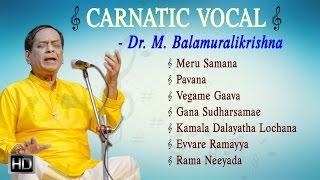 Dr.+M.+Balamuralikrishna+-+Carnatic+Vocal+-+Jukebox+-+Indian+Classical+Music