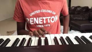 """How to play the """"ELMO SONG"""" on the PIANO (Easy)"""