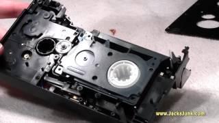 VHS-C Adapter Repair....Yeah, Right!
