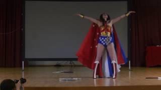 Japan Sun 2016 - Concours Cosplay - 14 - Wonder Woman - Diana Prince
