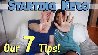 Our 7 BIGGEST Tips For Starting Keto - Keys To Success!
