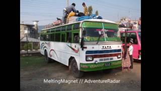 Pokhara, Sonauli, Gorakhpur, Kolkata India public transportation