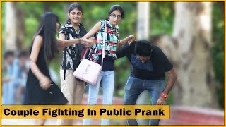 Couple Fighting In Public Prank - ft. Sunny Aryaa - Prank In India | The HunGama Films