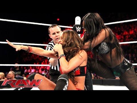 Nikki Bella vs. Naomi - WWE Divas Championship Match: Raw, May 18, 2015