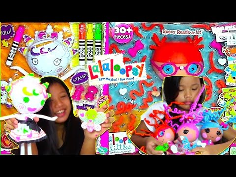 Lalaloopsy Color Me Doll and Lalaloopsy Littles Silly Hair - Kids' Toys