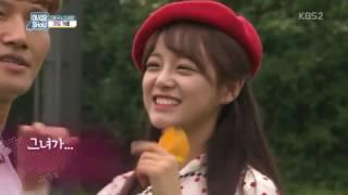 160930 어서옵show 김종국 김세정(Gugudan) 커플 컷