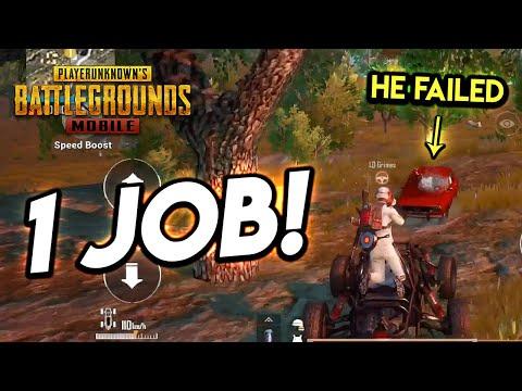 YOU HAD ONE JOB!!! PUBG Mobile (He Failed)
