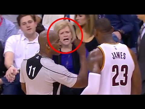 "Billionaire Woman Taunts LeBron James Tells Him to ""Suck It Up"""