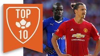 Top 10 Premier League Summer Transfers