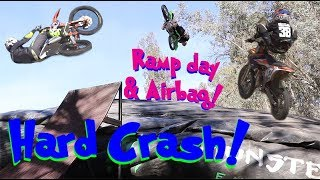 Close Call Nearly Crashed Sending Ramp! Rocco Face Slam!