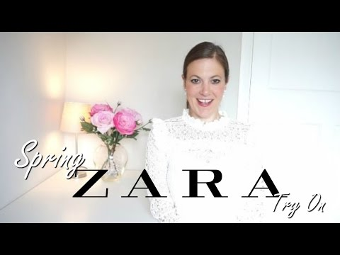 Zara TRY ON HAUL 2017 for over 40 SPRING FASHION