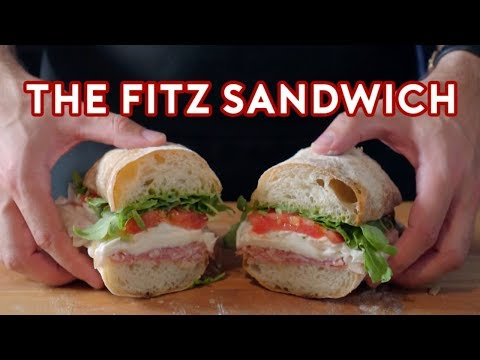 Binging with Babish The Fitz Sandwich from Agents of S.H.I.E.L.D.