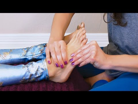 Xxx Mp4 Relaxing Foot Massage Tutorial To Boost The Immune System ♥ Melissa LaMunyon 3gp Sex