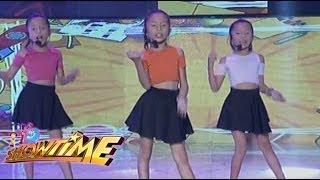 Tripleng sya ang hatid sa madalang people ng MiNiME nina Kim, Maja at Shaina