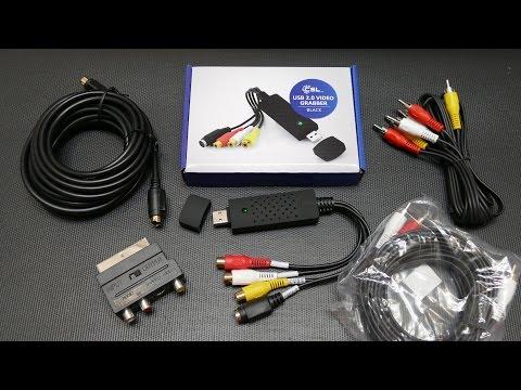 CSL-Computer: USB 2.0 Audio/Video Grabber inkl. Zubehörset [Vorstellung]