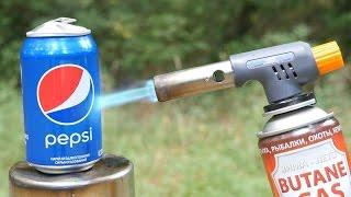 PEPSI VS GAS TORCH