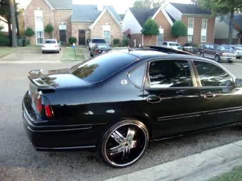 05 impala ss CLEAN on 22s & Two 15 inch Kicker L7 s