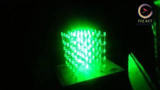 LED KHỔI CUBE 3D 5x5x5 - SHOP ĐỒ HANDMADE ĐIỆN TỬ QUY NHƠN
