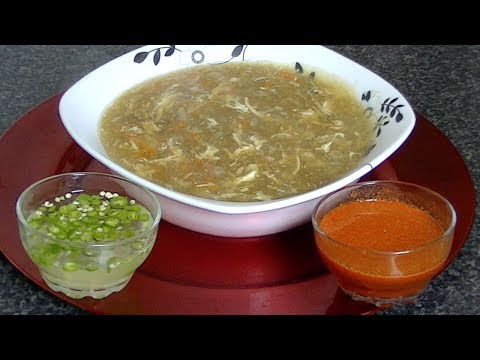 HOT & SOUR SOUP COOK WITH FAIZA