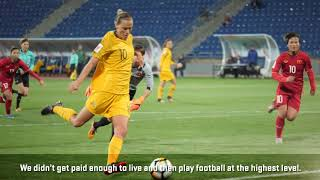 """""""It's not an easy road to get to the top. You need to work hard and always give your best,"""" Sam Kerr"""