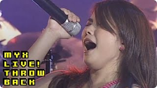 YENG CONSTANTINO - Hawak Kamay (MYX Live! Performance)