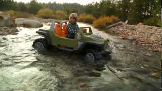 Power Wheels Jeep Hurricane with Creek Crossing